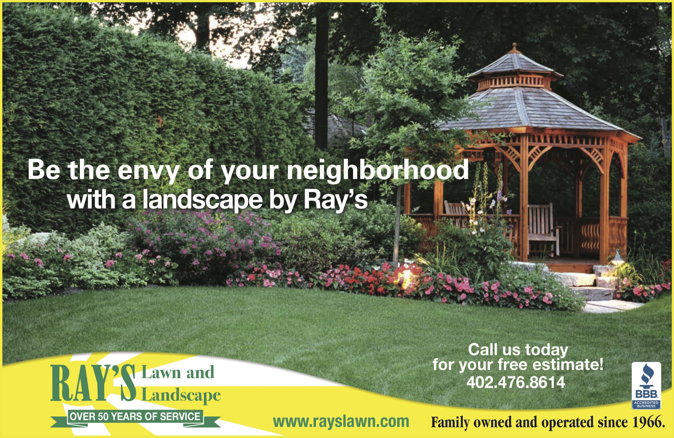 Rays Lawn Landscape Lincoln Family Values